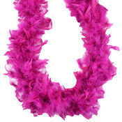 Raspberry Sorbet - Turkey Feather Chandelle Boa 2yd