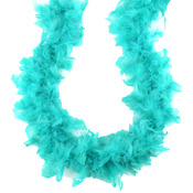 Bermuda Blue - Turkey Feather Chandelle Boa 2yd