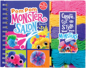 Pom-Pom Monster Salon Book Kit