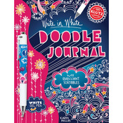 Doodle Journal, Write In White Book Kit