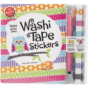 Washi Tape Stickers Book Kit
