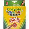 Jumbo Crayons 8/Pkg