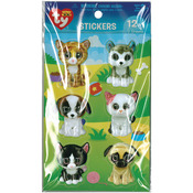 Pet - Beanie Boo 3D Stickers 12/Pkg