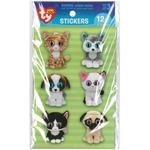 Pet - Beanie Boo Wiggle Eye Stickers 12/Pkg
