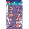Beanie Boo Wiggle Eye Stickers 12/Pkg