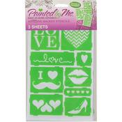 Love - Multi Design Stencil