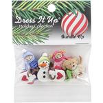 Bundle Up - Dress It Up Holiday Embellishments
