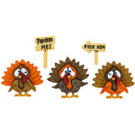Turkey Trot - Dress It Up Holiday Embellishments