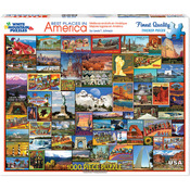 "Best Places In America - Jigsaw Puzzle 1000 Pieces 24""X30"""