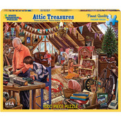 "Attic Treasures - Jigsaw Puzzle 1000 Pieces 24""X30"""