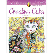 Creative Cats Coloring Book - Dover Publications