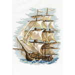 """11.75""""X15.75"""" 16 Count - Ship Counted Cross Stitch Kit"""