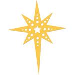Fancy Star Die - Holy Night - KaiserCraft