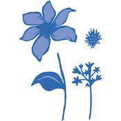 "Fairy Flowers .5""X.5"" To 2.5""X2"" - Kaisercraft Dies"