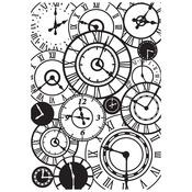 Clocks Embossing Folder - Time Machine - KaiserCraft