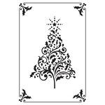 Framed Christmas Tree - Holy Night - KaiserCraft Embossing Folder