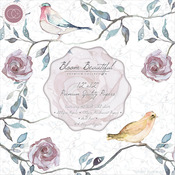 """Bloom Beautiful, 2 Each Of 20 Designs - Craft Consortium Double-Sided Paper Pad 12""""X12"""" 40/Pkg"""