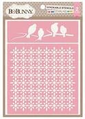 Starling Stickable Stencil - Bo Bunny