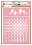 Starling Stickable Stencil - Bo Bunny