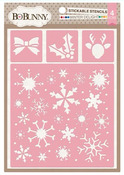 Winter Delight Stickable Stencil - Bo Bunny