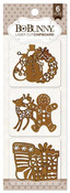 Holidays Laser Cut Chipboard - Bo Bunny
