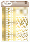 Accents Gold Foil Rub-on Transfers - Bo Bunny