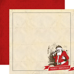 Santa Claus Paper - Have A Merry Christmas - Carta Bella