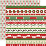 Christmas Borders Paper - Have A Merry Christmas - Carta Bella