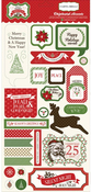 Have A Merry Christmas Chipboard Elements - Carta Bella