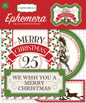 Have A Merry Christmas Ephemera - Carta Bella