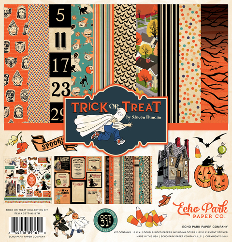 Carta Bella HAUNTED HOUSE  Collection Kit  Brand New HALLOWEEN