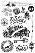 Darling Noble Cling Stamp - Royal Menagerie - Prima