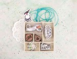 Royal Menagerie Laser-Cut Wood Icons In A Box - Prima