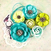 Louise Mulberry Paper Flowers - Royal Menagerie - Prima