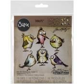 Bird Crazy Thinlits Die Set - Tim Holtz