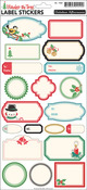 Under The Tree Label Sticker Sheet