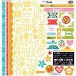 Whatever Is Lovely Sticker Sheet - Illustrated Faith