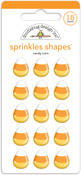 Candy Corn Sprinkles Shapes - Doodlebug