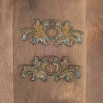 Metals For Wood Plaque  9 - Prima