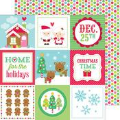 Christmas Magic Paper - Sugarplums - Doodlebug