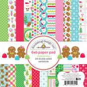Sugarplums 6 x 6 Paper Pad - Doodlebug