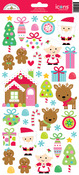 Sugarplums Icon Stickers - Doodlebug