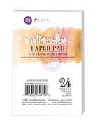 Watercolor 2.5 x 4.25 Paper Pad - Prima
