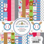Home Run 6 x 6 Paper Pad - Doodlebug