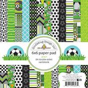 Goal! 6 x 6 Paper Pad - Doodlebug