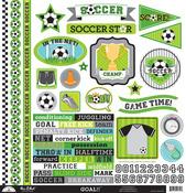 Goal! This & That Sticker Sheet - Doodlebug