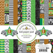 Touchdown 6 x 6 Paper Pad - Doodlebug