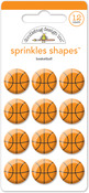 Basketball Sprinkles - Doodlebug