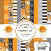 Slam Dunk 6 x 6 Paper Pad - Doodlebug