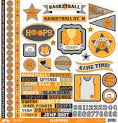 Slam Dunk This & That Sticker Sheet - Doodelbug